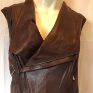 SW3 BESPOKE small faux leather vest